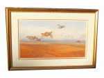Archibald Thorburn - Watercolour framed