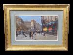 Eugene Galien-Laloue Porte Saint-Martin, Paris