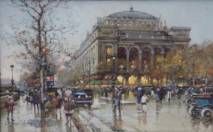 Eugene Galien-Laloue - Theatre du Chatelet @0,33x