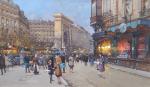 Eugene Galine-Laloue Porte Saint-Martin - Paris