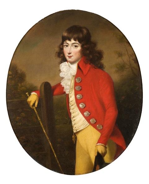 Francis Alleyne - Portrait of Harry Croft
