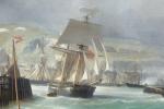 Julius Hintz - Dover - Sail Ship in focus