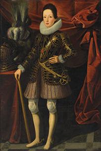 Justus Suttermans Portrait of Ferdinand II de' Medici (1610-1670), Grand Duke of Tuscany, full-length no frame@0,25x