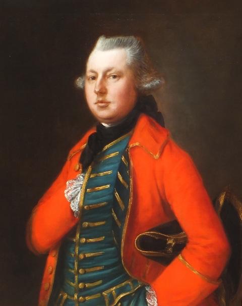 Thomas Gainsborough - Portrait of Mr Coke of Brookhill Hall