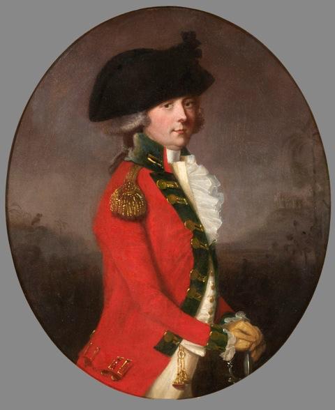 Thomas Hickey - Portrait of General Sir Thomas Bowser
