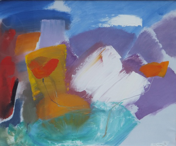 Ivor Hitchens - Colour of Flowers
